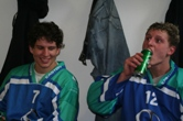 Roman Rothe und Andreas Vetter in der Pause
